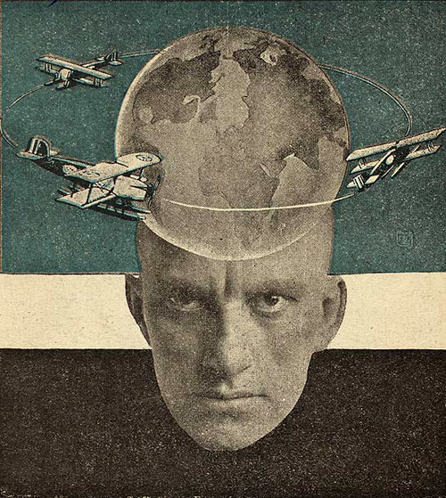 Alexander Rodchenko, Photomontage for Vladimir Mayakovsky's  Conversations with a Tax Collector About Poetry  (1926)