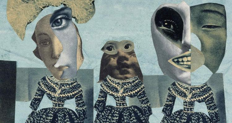 Fashion Show (1925-1926) by Hannah Hoch