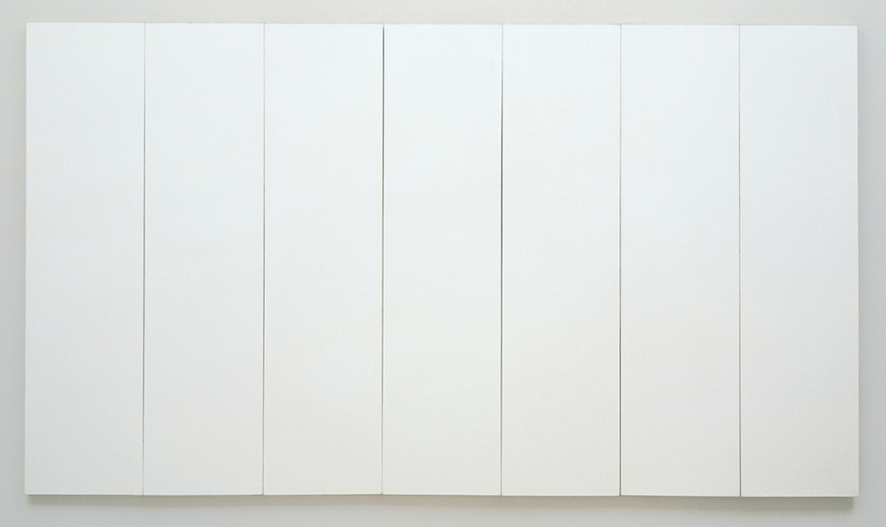 Robert Rauchenberg's  White Paintings
