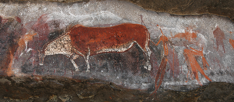 Game Pass Shelter the 'Rosetta Stone' of San Rock Art