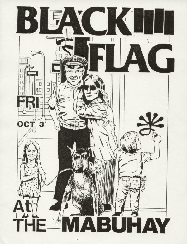Black Flag poster (Pettibon)