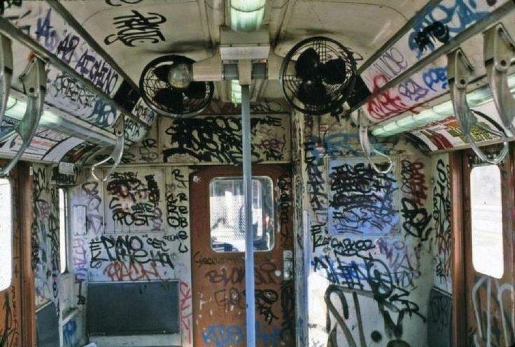 1970s subway car