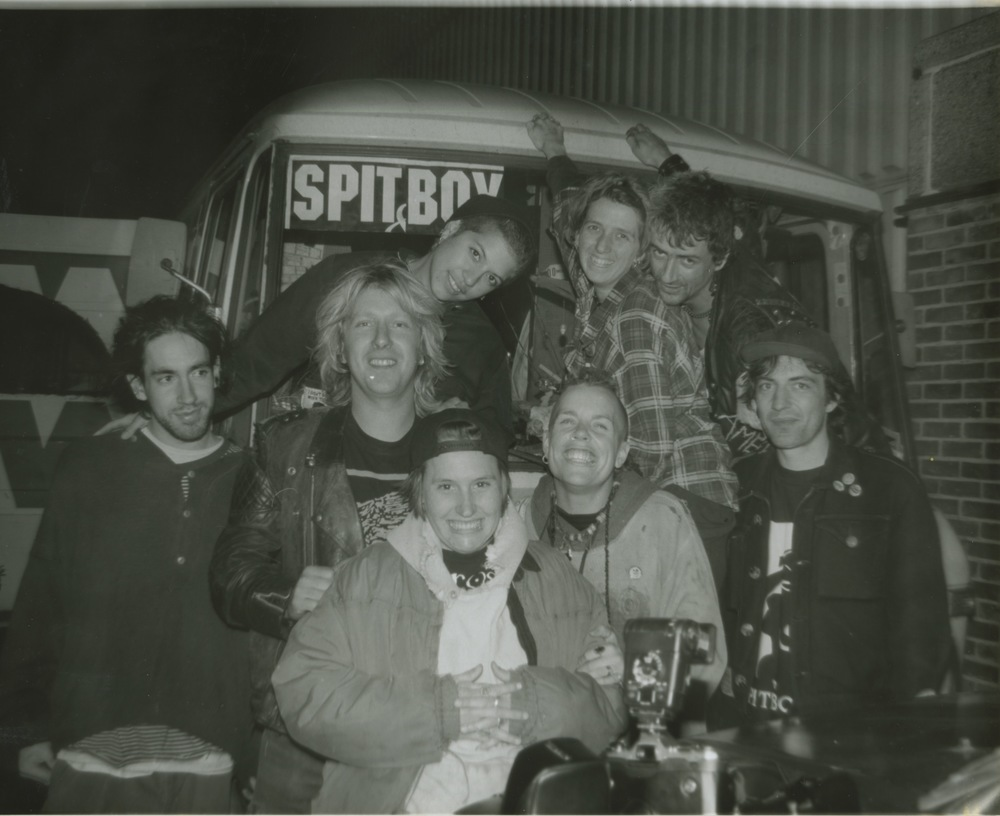 Spitboy, European tour (1993)