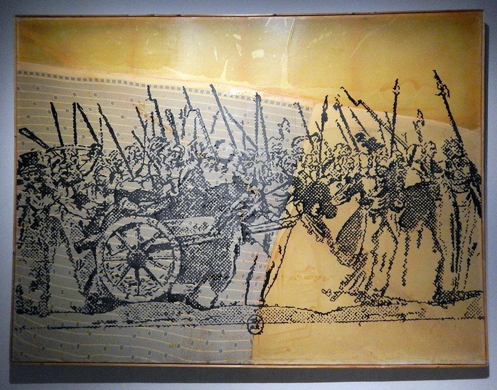 Sigmar Polke,  To Versailles, to Versailles  (1988)