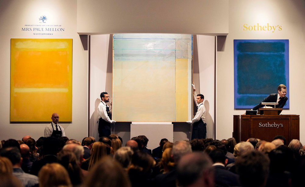 Sotheby's art auction (November 2014).