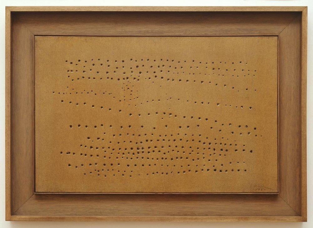 Lucio Fontana, Spatial Concept(1949–50)