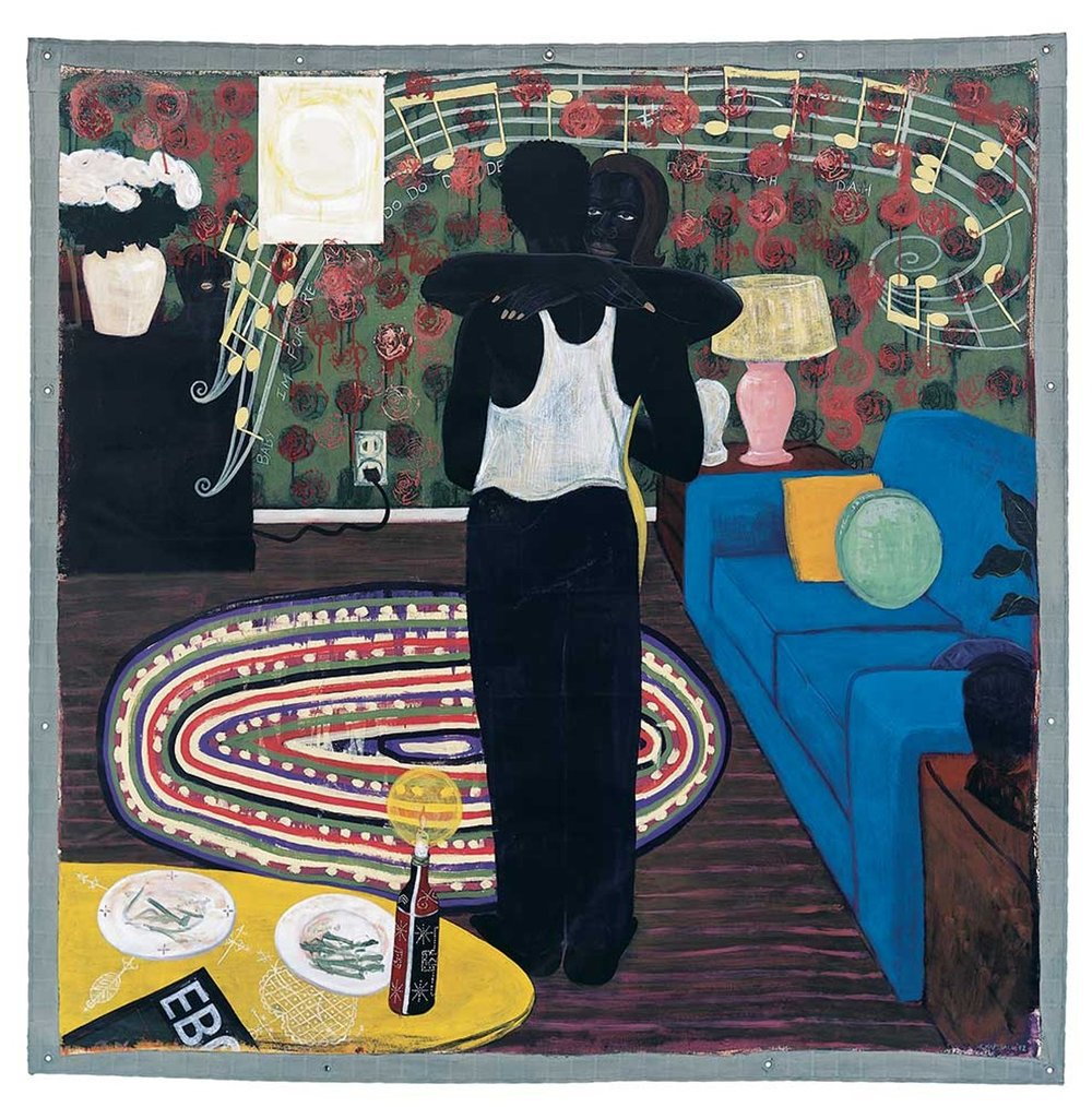 Kerry James Marshall,  Slow Dance  (1992)