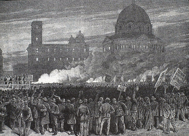 "The 1877 St. Louis General Strike; also known as the ""St. Louis Commune"""