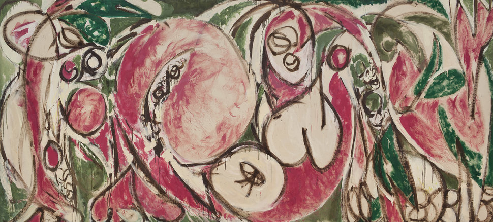 Lee Krasner's  The Seasons