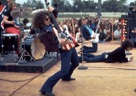 The MC5's Wayne Kramer