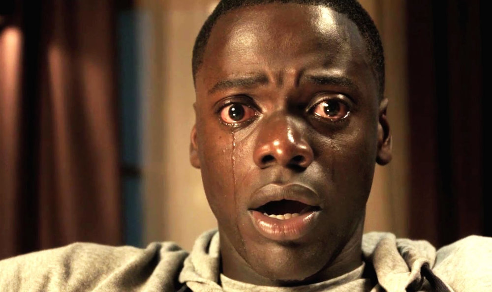Daniel Kaluuya (Chris Washington) in Jordan Peele's  Get Out