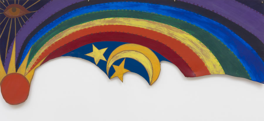 Betye Saar,Rainbow Mojo, 1972.