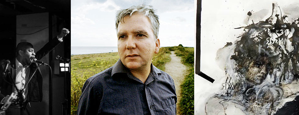Left: Algiers. Center: Mark Fisher. Right: The art of Laura Fair-Schulz.