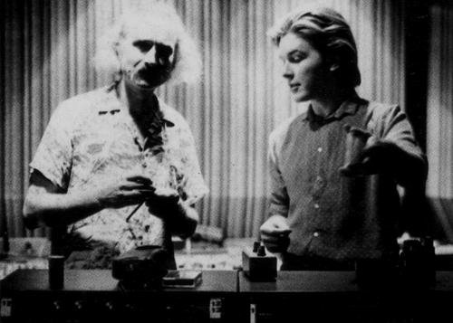 Czukay with David Sylvian.
