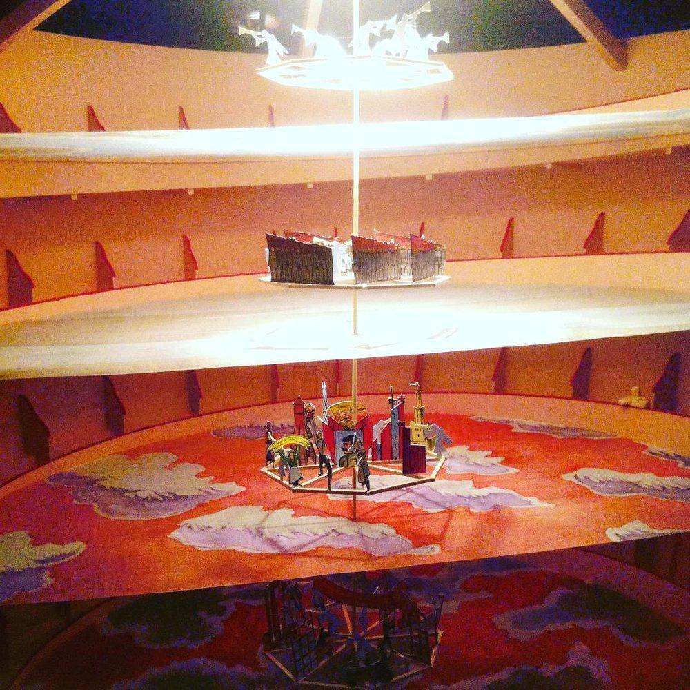 Model for  The Vertical Opera (Guggenheim)