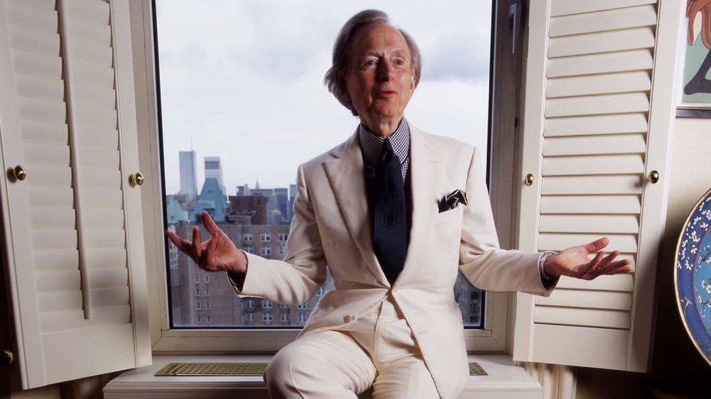 Tom Wolfe playing dress-up.