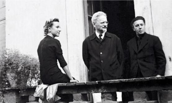 Jacqueline Lamba, Leon Trotsky,André Breton