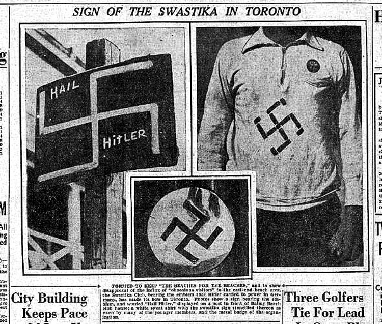 From the  Toronto Star  (1930s)