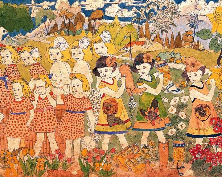Henry Darger,  Realms of the Unreal , detail