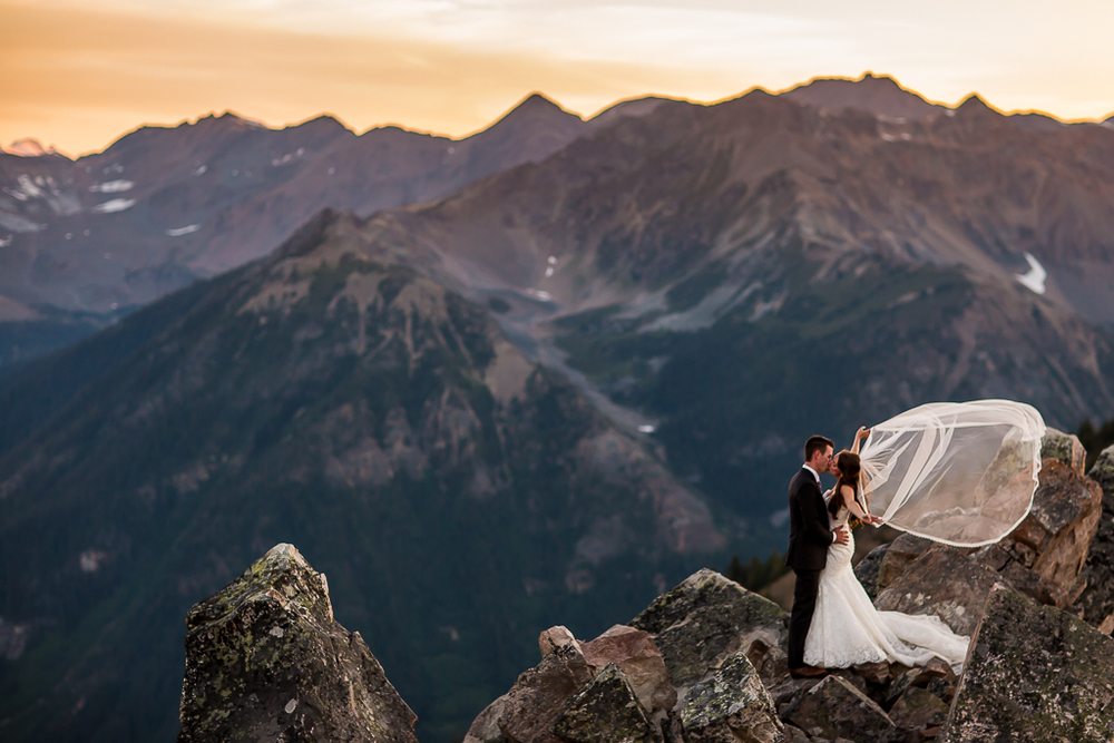 Wedding photography at Kicking Horse Mountain Resort | Eagles Eye Restaurant | Golden Wedding Photography