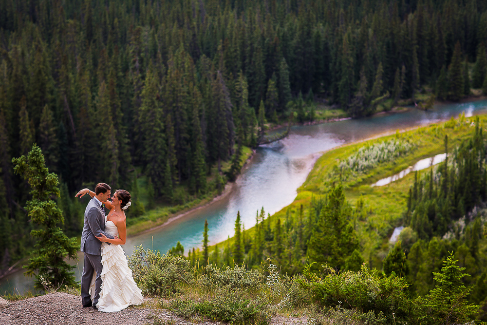 Wedding Photography at Buffalo Mountain Lodge Wedding | Banff National Park | Banff Wedding Photography