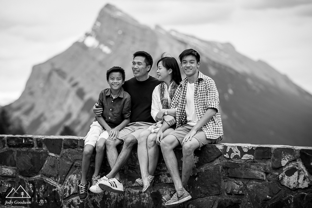Family Session in Banff National Park | Summer Family Session | Banff Family Photography