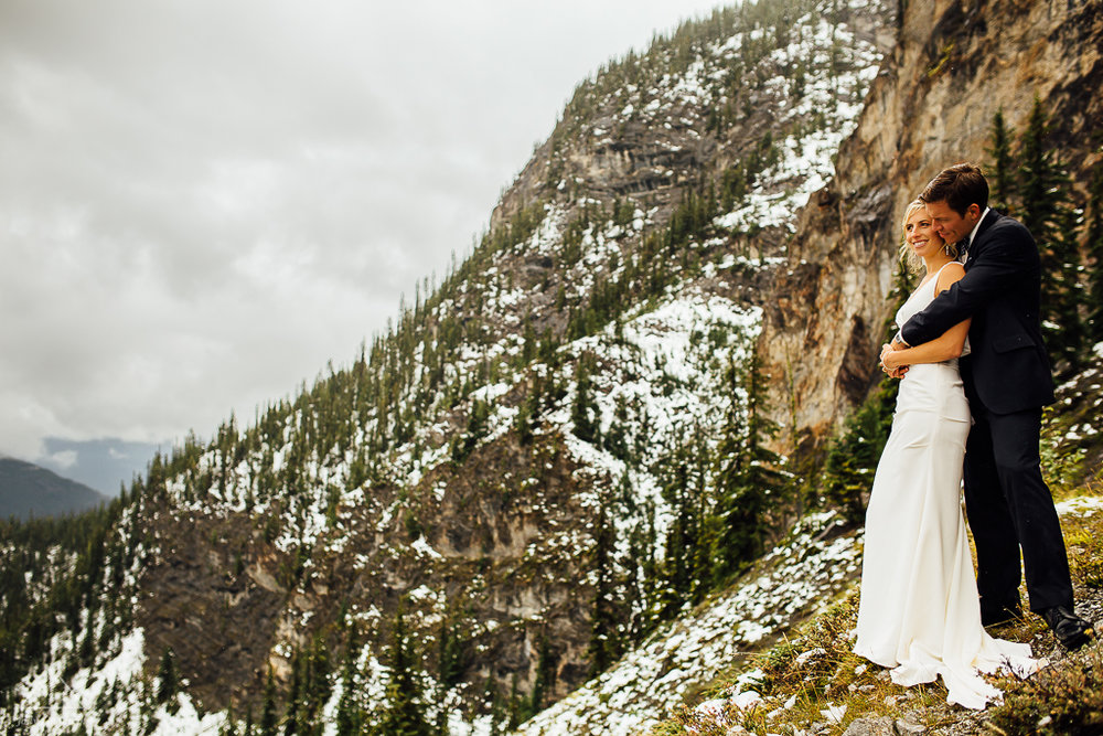 Wedding Photography in Banff, AB | Wedding Photography at Mount Norquay Resort | Destination Wedding Photography | Jody Goodwin Photography