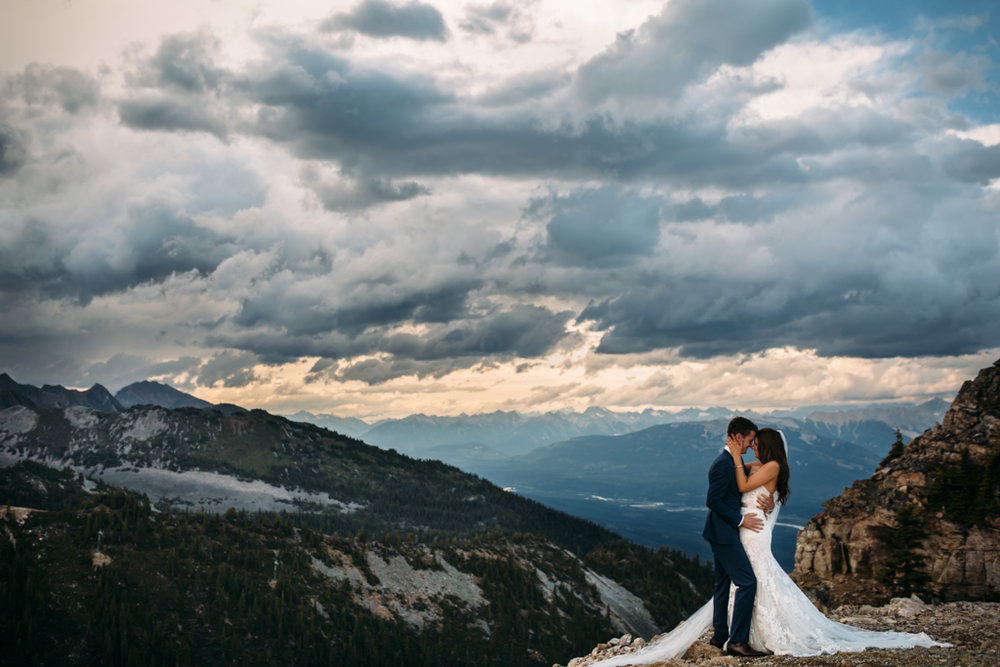 Kicking Horse Mountain Resort Wedding | Golden, BC | Eagles Eye Restaurant | Kicking Horse Wedding Photography