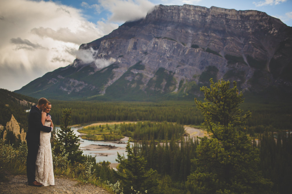Buffalo Mountain Lodge Wedding | Banff, Alberta | Banff Wedding Photography