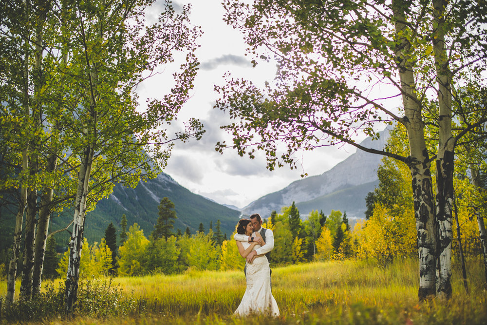 Canmore AB Wedding | Intimate Wedding | Canmore Wedding Photography