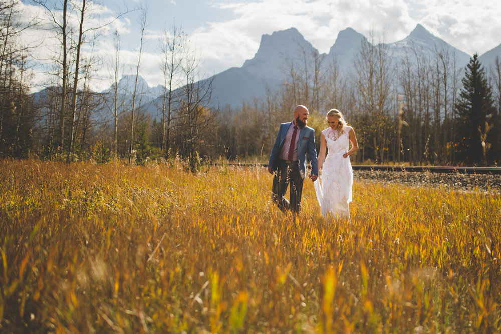 Canmore, AB Wedding | Silvertip Resort Wedding | Canmore Wedding Photography