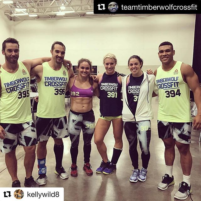 Congrats to Type 1 Disbetic @kellywild8 and @teamtimberwolfcrossfit for being the 8th fittest team in the world! #crossfitgames #defeatt1d #type1diabetes #t1d #fitness #crossfit