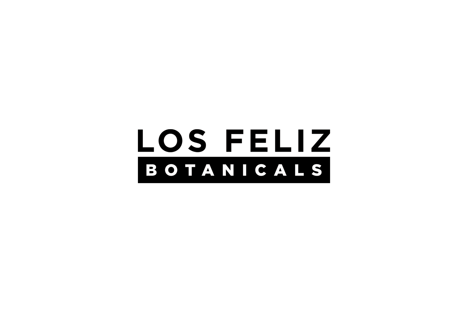 3b65c340cf831e Los Feliz Botanicals  logo needed to be bold  amp  simple to be easily  recognizable