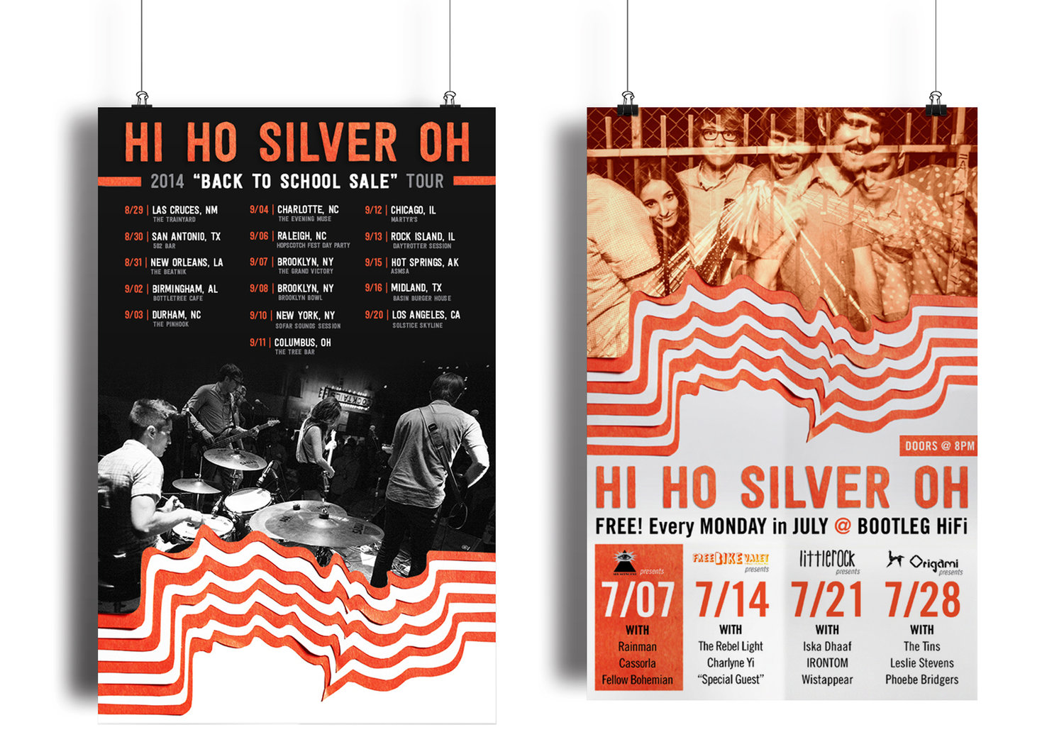 Poster design needed - The Band Needed Web And Print Posters For Tour And Their Residency Shows