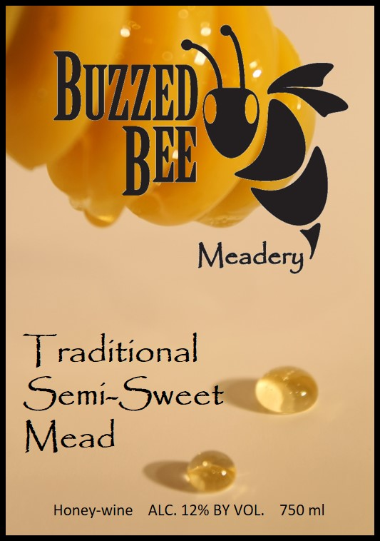 Traditional Semi-Sweet Mead - $18