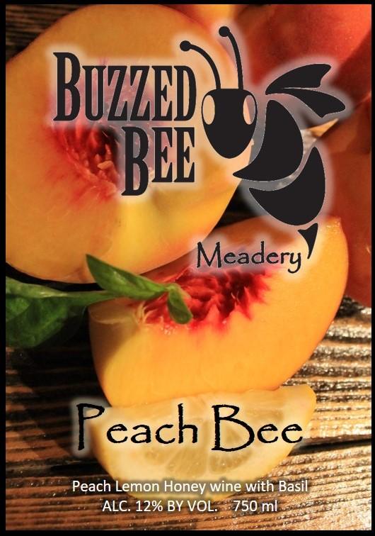 Peach Bee - $20
