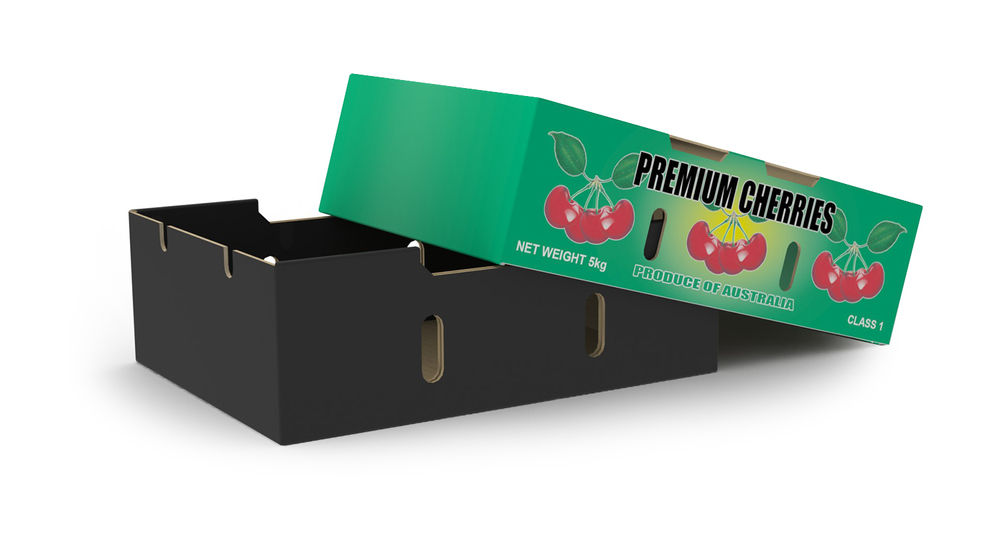 2-Piece 5kg Cherry Box