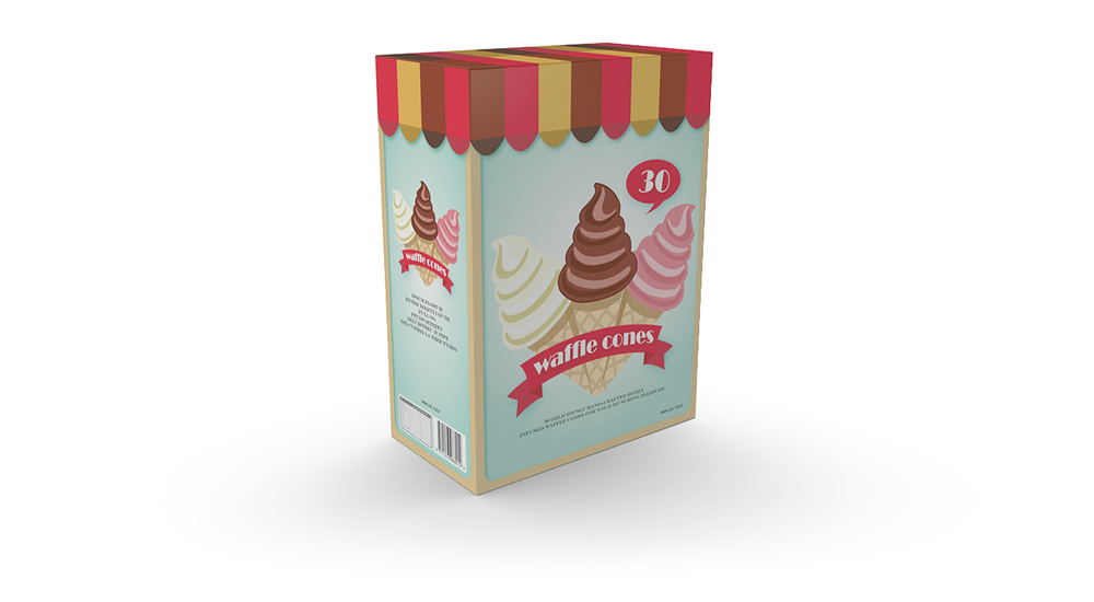 Ice cream cone packaging