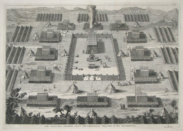 The Tabernacle and The Camp. Image source: http://www.grosvenorprints.com/stock_detail.php?ref=12600