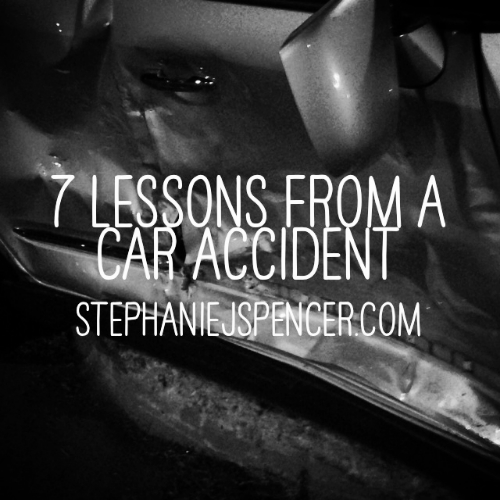 7 lessons from a car accident