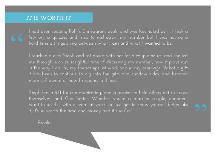 Brooke Testimonial