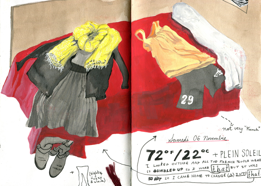 Drawing From Life: Wardrobe Chronicles