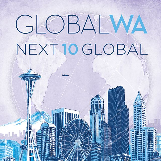 We're done here ✔️ Thanks to #GlobalWA for this special opportunity to get to know every last window of the Seattle skyline (and to listen to all of your local Black Tapes podcast while doing so 👻)