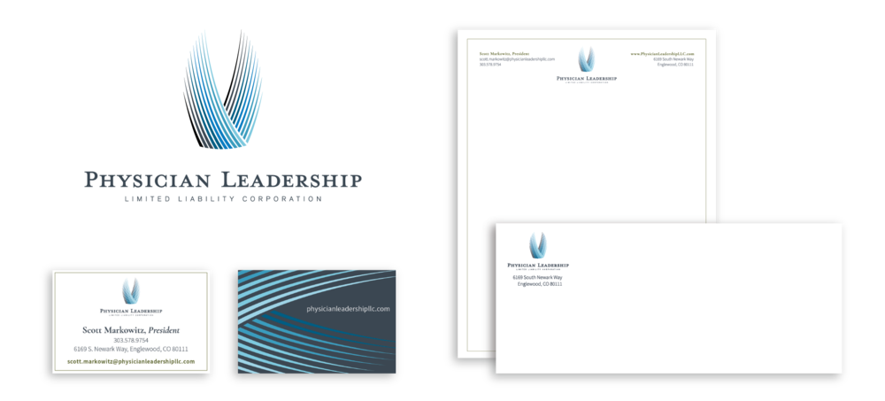 physician leadership llc branding