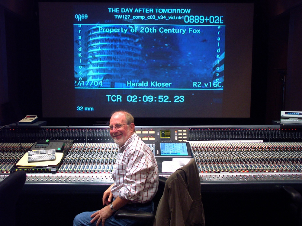 Legendary Armin Steiner  at the mixing console