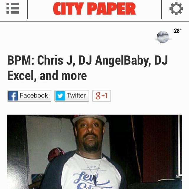 Shout out to City Paper for the mention 👍#bmoreclub #citypaper #BPM
