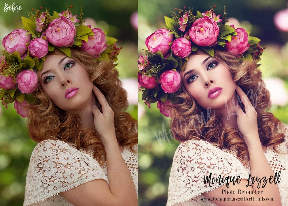 before after pink flower head moniquelayzell.jpg