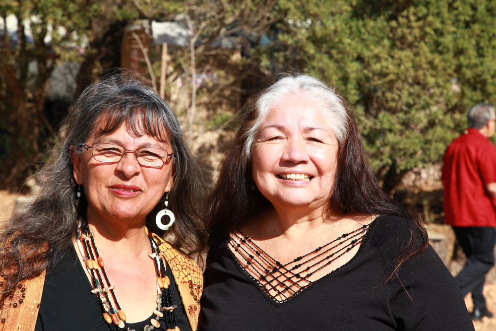 Chumash Elders, Mena Moreno and Dee Dominguez.