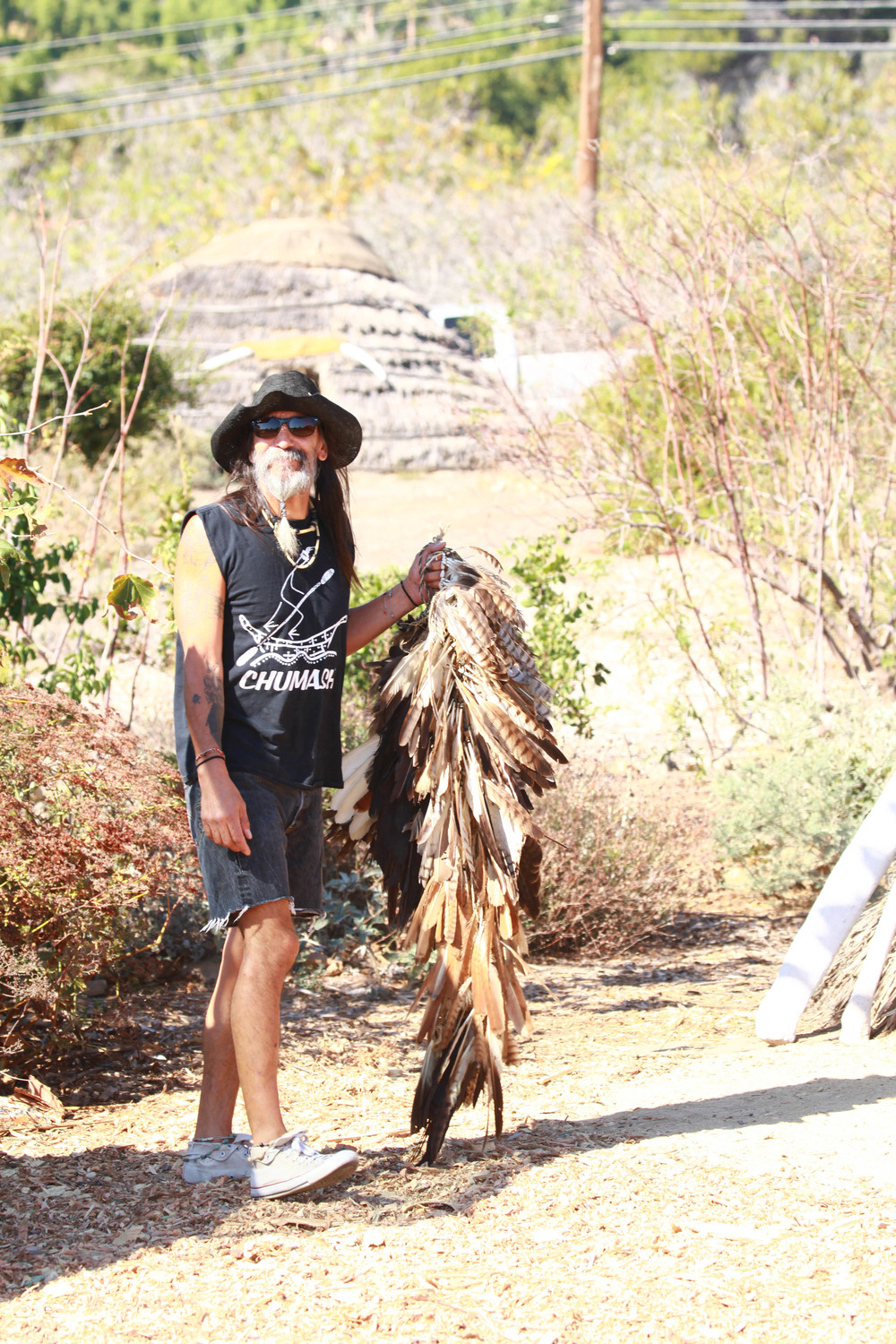 David Paul Dominguez, Traditional Chumash Dancer