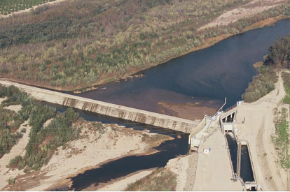 United's Vern Freeman Diversion Dam AT River Mile 10.5